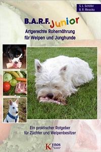 B.A.R.F. Junior, Artgerechte Rohernährung für Welpen und Junghunde